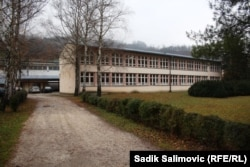 The school -- now named after the Bosnian Serb writer and politician Petar Kocic -- was used as a military barracks by Bosnian Serb forces.