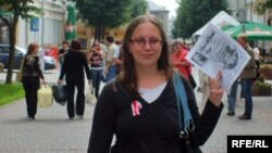 Журналістка Ганна Ільіна