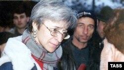Anna Politkovskaya in 2001