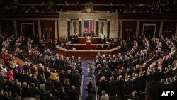 Pamje nga një senacë në Kongresin e Shteteve të Bashkuara