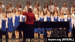 Дитячий музичний конкурс у Севастополі, 1 квітня 2017 року