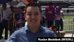 Малайзияда оқып жүрген Мағжан Қайранбай. Куала-Лумпур, 28 ақпан 2016 жыл.