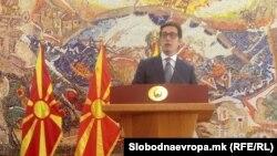 Прес-конференција на претседателот Стево Пендаровски