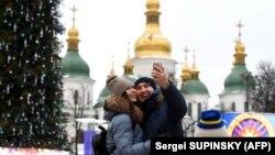 Ukraynada Milad yarmarkası