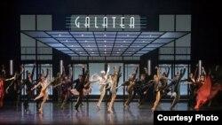 """Сцена из балета """"Эффект Пигмалиона"""""""