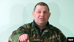 Украинадағы «Правый сектор» ұйымы басшыларының бірі болған Александр Музычко28 ақпан 2014 жыл.