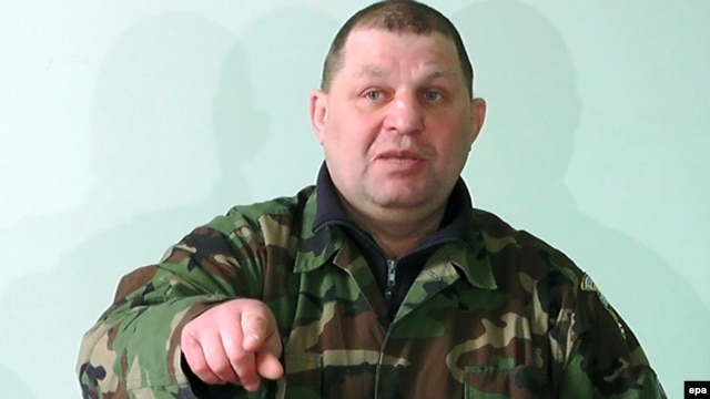 Oleksandr Muzychko was a prominent member of Ukraine's Right Sector movement, which has been accused of neo-fascist leanings. (file photo)