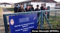 Izbeglice iz Avganistana u Centru za tražioce azila Krnjača, u Beogradu