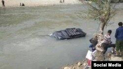 Фото с места трагедии отправлено в адрес Радио Озоди пользователем Фейсбука