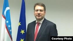 Европа Иттифоқининг Ўзбекистондаги делегацияси раҳбари Эдуардс Стипрайс.
