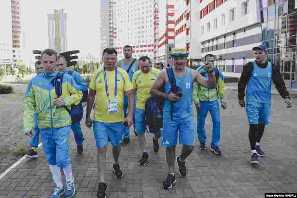 Украінскія спартоўцы