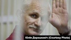 Алесь Бяляцкі. Фота Юліі Дарашкевіч.