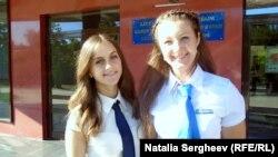Adriana Nicula (stînga) și Irina Odobescu