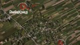 Nagorno Karabakh - Picture made from the air, proving, according to Nagorno Karabakh's Ministry of Defense, the deployment of Azerbaijani forces' military objects in populated areas or in their immediate neighborhood, 28Apr,2016