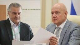 Сергей Аксенов (слева) и Виталий Нахлупин, коллаж