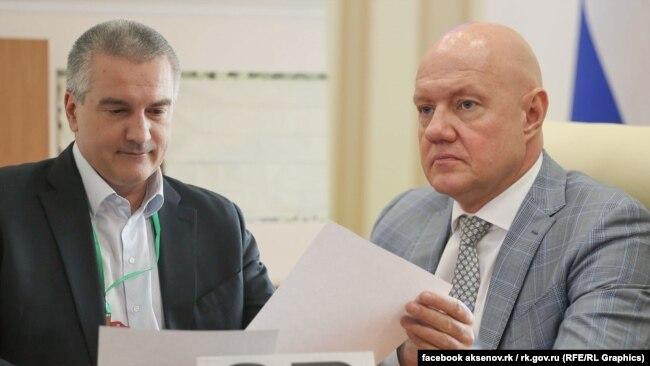 Виталий Нахлупин, российский вице-премьер Крыма