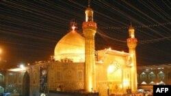 ضريح الإمام علي بن أبي طالب في النجف