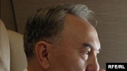 Казакстандын президенти Нурсултан Назарбаев.