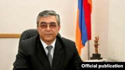 Armenia -- Former judge Samvel Mnatsakanian, undated