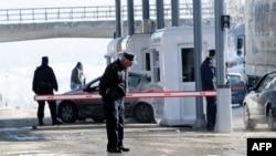 Granični prelaz Merdare na ulazu u Kosovo