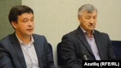 Радик Салихов (c) һәм Рафаэль Хәкимов
