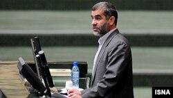 علی نیکزاد در صحن مجلس