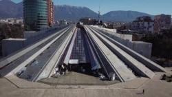 High (Tech) Hopes For Tirana's Crumbling Pyramid