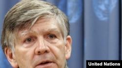 Представитель генсека ООН по правам вынужденных переселенцев Вальтер Калин