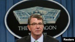Американскиот секретар за одбрана Еш Картер