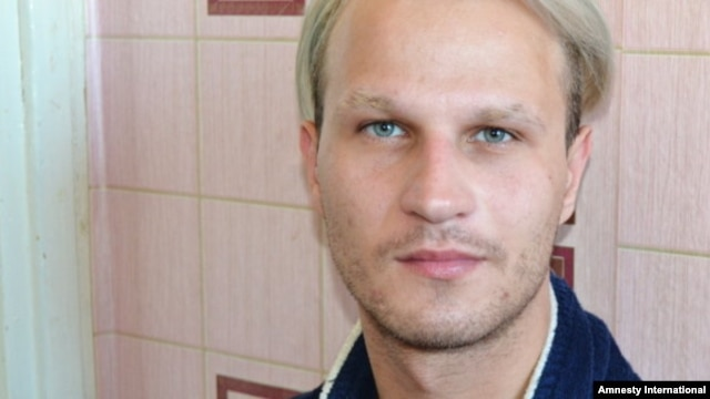 Gay-rights activist Ihar Tsikhanyuk says police dragged him out of the hospital where he was undergoing treatment for a stomach ulcer and took him to a police station, where he was repeatedly beaten, insulted, and grilled about his sexual life.