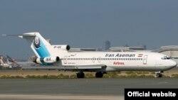 İranda Boeing 727 təyyarəsi, arxiv fotosu