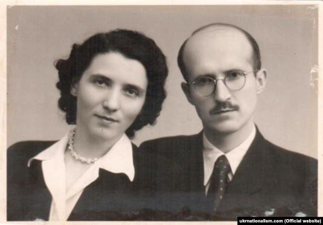 Ярослава Стецько (Ганна Музика) (1920–2003) зі своїм чоловіком Ярославом Стецьком (1912–1986)