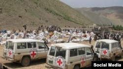 Afghanistan hosts the Red Cross's fourth-largest humanitarian program in the world. (file photo)