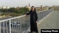 Saud Arabystanynda ýaşaýan türkmen.
