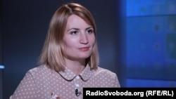 Ukrainian lawmaker Olha Stefanyshyna (file photo)