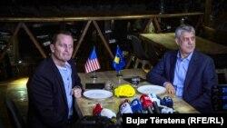 Ambasadori Grenell dhe presidenti Thaçi