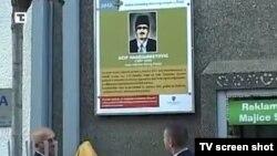Spomen obeležje sa Aćif-efendiji u centru Novog Pazara