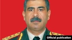Министр обороны Азербайджанской Республики генерал-полковник Закир Гасанов