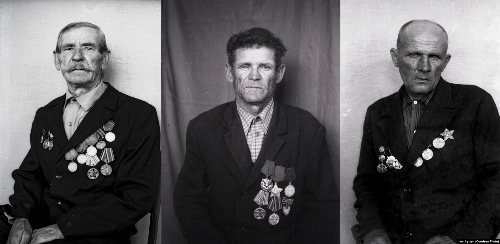 Фронтовики Другої світової війни із села Грушківка, Черкаської області