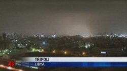 NATO Warplanes Strike Libyan Capital
