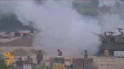 Израил танклары Газзәне утка тота
