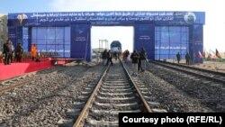افتتاح خط آهن هرات-خواف