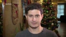 Ahtem Seytablayev Yañı yıl ile Оleg Sentsovnı hayırlay