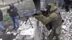 Антитеррористические учения СБУ на админгранице с Крымом (видео)