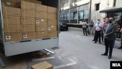 Првите 200 биометриски читачи пристигнаа во Македонија