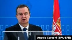 Ивица Дачиќ, министер за бнадворешни работи на Србија