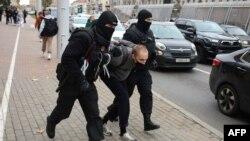 دستگیری معترضان در بلاروس