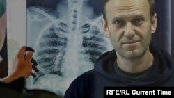 Lideri i opozitës ruse, Aleksei Navalny.