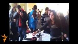 Podgorica: Studenti blokirali Fakultet političkih nauka