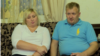 Многодетные родители Диана и Владимир Родиковы в 2015 году